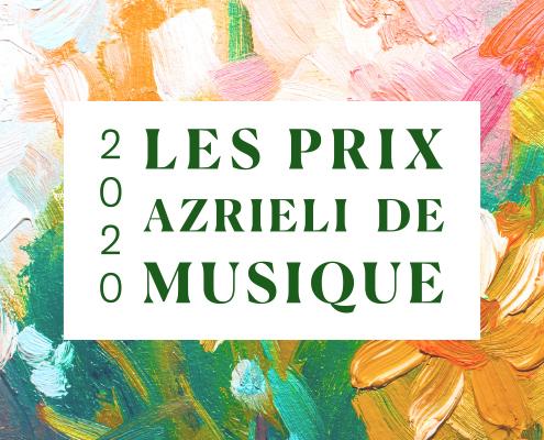 Les Prix Azrieli de Musique 2020