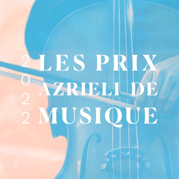 2022 Les Prix Azrieli de Musique