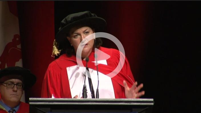 Video of Naomi Azrieli's McGill Speech 2018