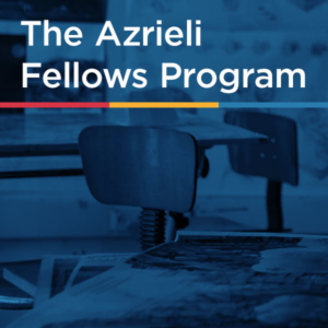 The Azrieli Fellows Program