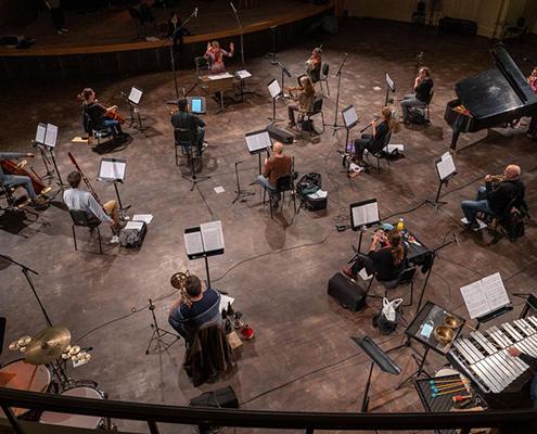 Azrieli Music Prizes NEM rehearsal