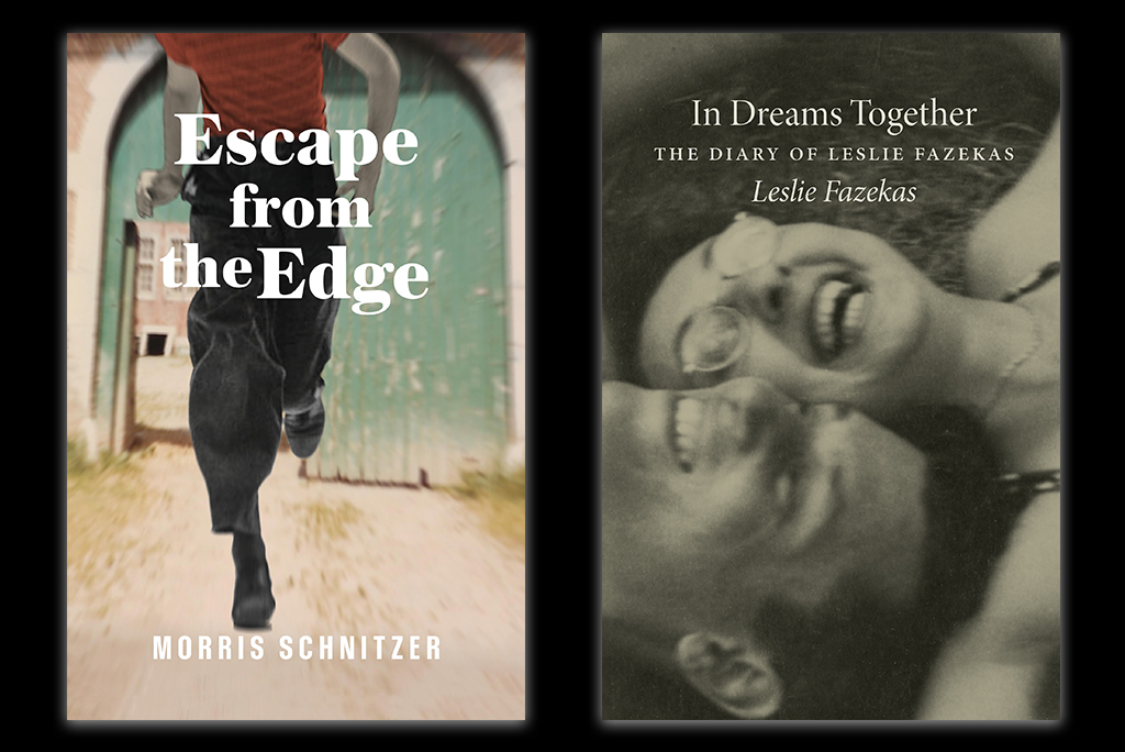 The Azrieli Foundation recently launched two new Memoirs: Escape from the Edge by Morris Schnitzer and In Dreams Together: The Diary of Leslie Fazekas.